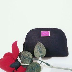 COPY - Victoria's Secret small black makeup clutch bag